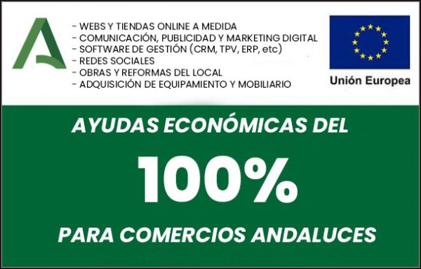Ayudas a comercios de Andalucía 2020